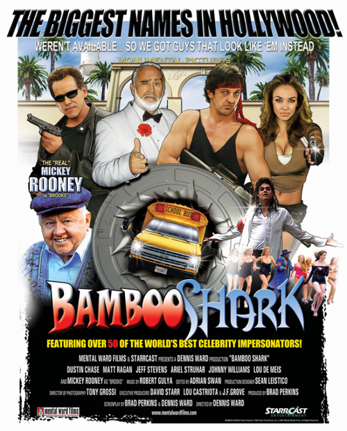 Bamboo Shark the Movie featuring Bettina Williams as Whoopi.