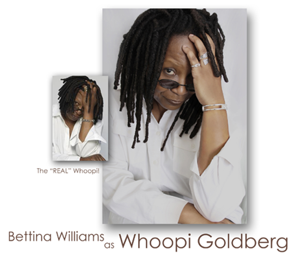 Bettina Williams as Whoopi Goldberg