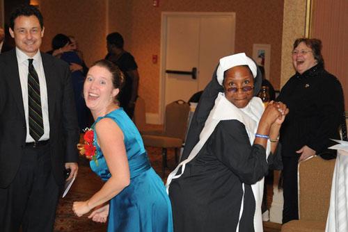 Bettina - Whoopi Impersonator as Nun